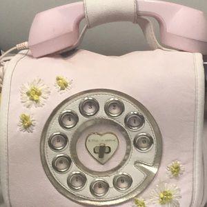 Beautiful pink phone purse